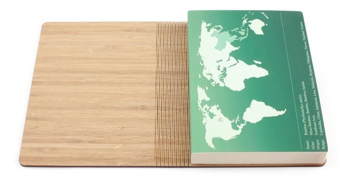 ven class notebook bamboo