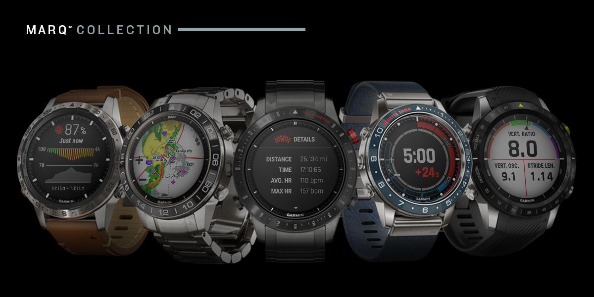 Colectia MARQ-Garmin smartwatch
